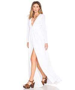 Mara Hoffman | Вечернее Платье С Вышивкой И V-Образным Вырезом