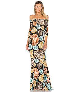 Norma Kamali | Платье С Запахом И Открытыми Плечами
