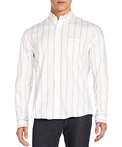 Raleigh Denim | Double Pocket Button-Down Shirt
