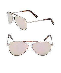 Halston | 62mm Aviator Sunglasses