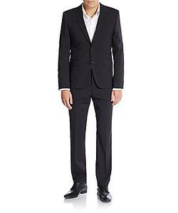 Hugo Hugo Boss | Aeron/Hamen Regular-Fit Tonal Checked Virgin Wool Suit