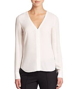 A.L.C. | Cleary Silk Cutout-Back Top