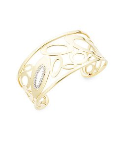 Roberto Coin | Chi And Shine Diamond 18k Cuff Bracelet