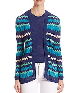 M Missoni | Colorblock Zigzag Cardigan