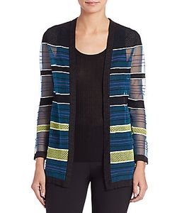 M Missoni | Fancy Ribbon-Stitch Cardigan