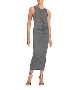 Thakoon Addition | Ribbed-Knit Midi Dress