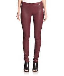 Tess Giberson | Pieced Leather Leggings