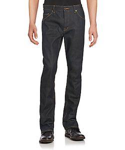 Raleigh Denim | Slim-Fit Straight-Leg Jeans