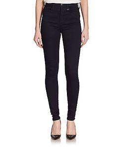 True Religion | Joan Smalls X Super Skinny High-Rise Denim Leggings
