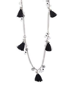Cara | Tassel Pendant Necklace