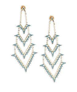 Noir | Laye Turquoise Bead Earrings