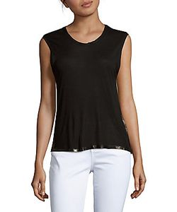 Zadig & Voltaire   Gipsy Solid Sleeveless Top