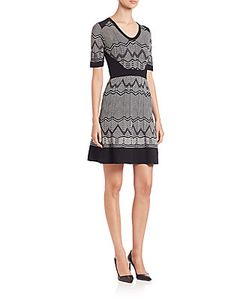 M Missoni | Zigzag Scoopneck Dress