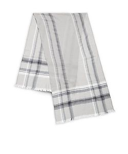 Saks Fifth Avenue | Exploded Plaid Wool Scarf