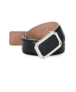 Gucci | Textu Leather Belt