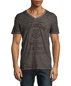 Zadig & Voltaire   Terak Wolf Logo T-Shirt