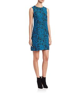 M Missoni | Silk Python-Print Shift Dress