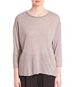 Vince | Raw-Edge Knit Top