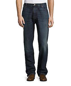 Raleigh Denim | Alexander Straight-Leg Whiske Jeans