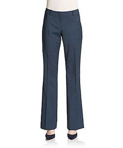 Boss Hugo Boss | Temuna Stretch-Wool Bootcut Trousers