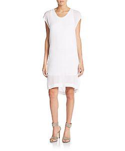Helmut Lang | Swift Draped-Back Dress
