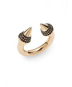 Vita Fede   Titan Swarovski Crystal Ring/Tone