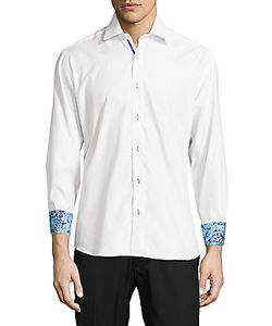 Bertigo | Printed Turn-Over Cuff Shirt