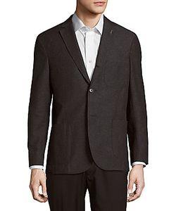 Michael Bastian | Wool Cotton-Blend Jacket