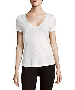 Zadig & Voltaire   Tino Painted-Back Cotton Top