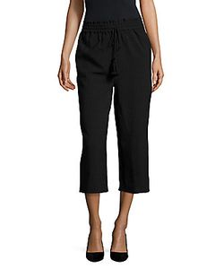 Lucca Couture   Solid Cropped Pants