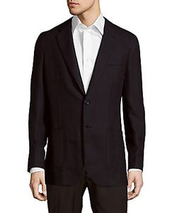 Brioni | Wool Long-Sleeve Jacket