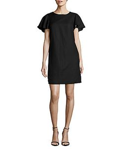 Saks Fifth Avenue | Flounced-Sleeve Shift Dress