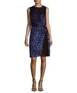 J. Mendel   Silk-Blend Embroide Dress