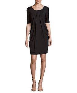 Lafayette 148 New York | Solid Pleated Dress