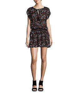 Parker | Smocked-Blouson Dress