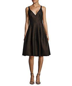 J. Mendel   Sleeveless Fit--Flare Dress