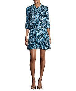 Zadig & Voltaire | Raspail Button-Front Printed Dress