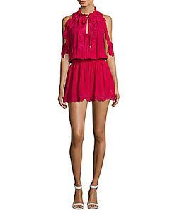 Parker | Embroide Cold-Shoulder Dress