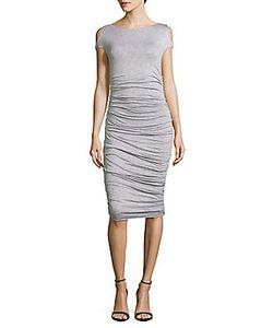 Bailey 44 | Cyclades Boatneck Cold-Shoulder Dress