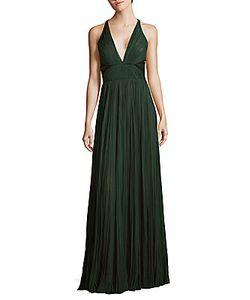 J. Mendel   Pleated Silk Gown