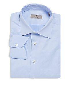 Canali | Modern-Fit Cotton Dress Shirt