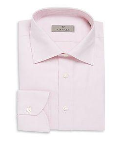 Canali | Modern-Fit Gingham Dress Shirt