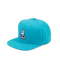 Psycho Bunny | Flat Visor Logo Hat