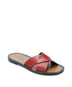 Jil Sander | Leather Slip-On Sandals
