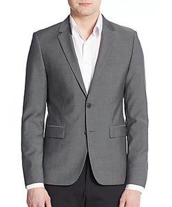 Hugo Hugo Boss | Aerins Regular-Fit Virgin Wool Sportcoat
