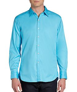 Robert Graham | Monkey Tail Solid Woven Sportshirt