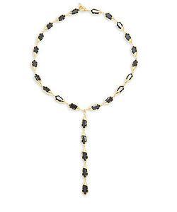 Noir | Toggle Necklace