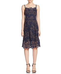 Elie Tahari | Aimee Lace A-Line Dress