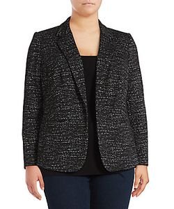 Vince Camuto | Knitted Jacquard Jacket