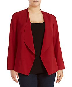 Vince Camuto | Solid Open-Front Jacket